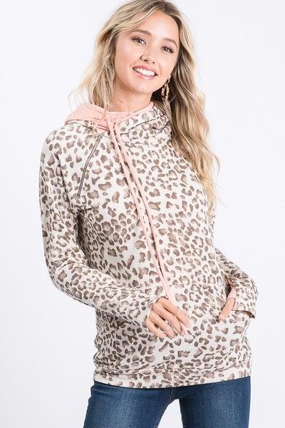 Leah Leopard Hoodie