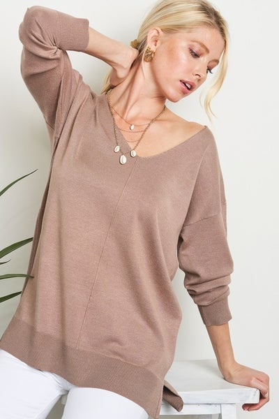 Helen Utility V-Neck Sweater