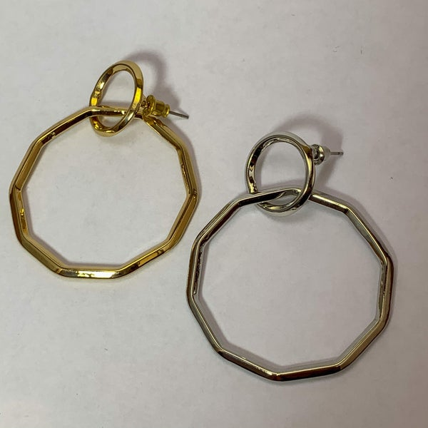 Harper Octagon Earrings
