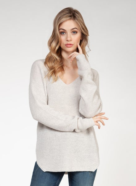 Snow Covered Sweater