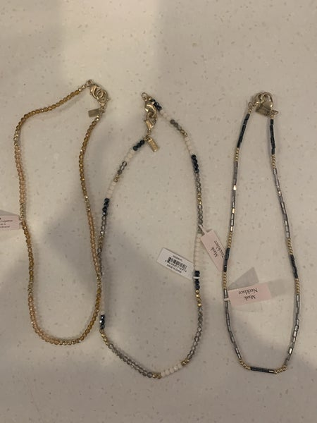 Beaded Mask Necklaces