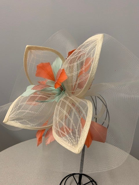 Virginia fascinator *Final Sale*