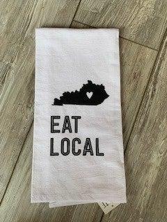 Eat Local Towel