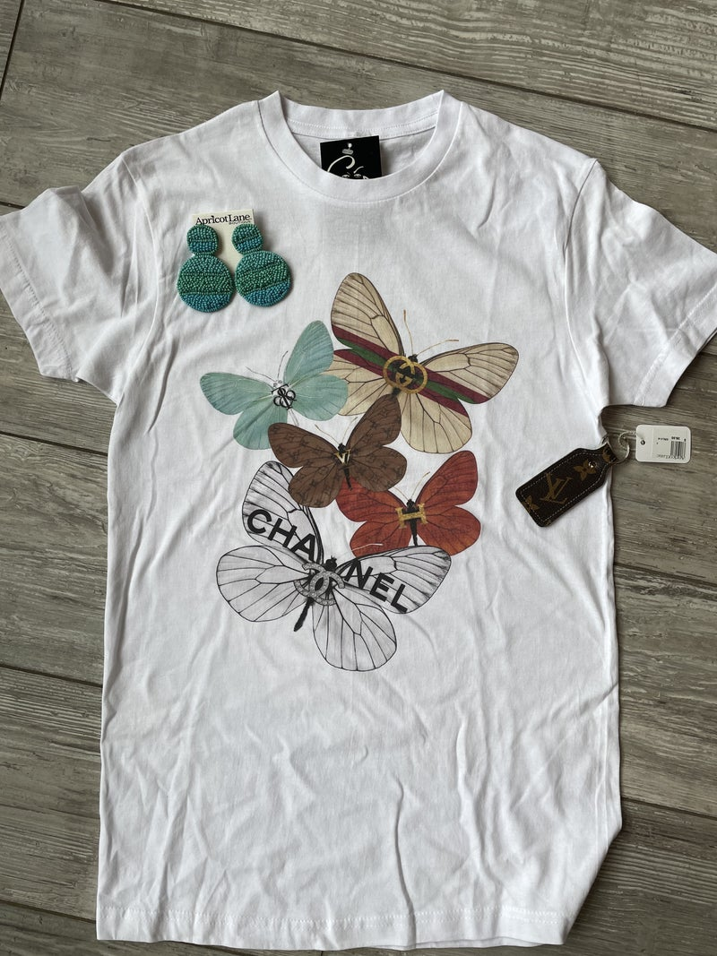 BUTTERLY TEE