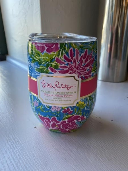 Lilly Wine Tumbler