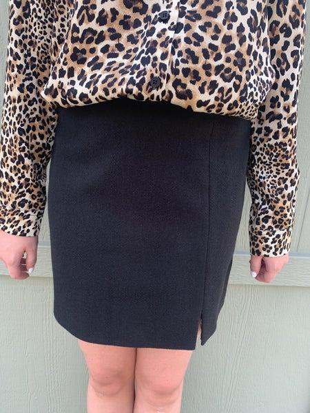 Molly Knit Mini Skirt