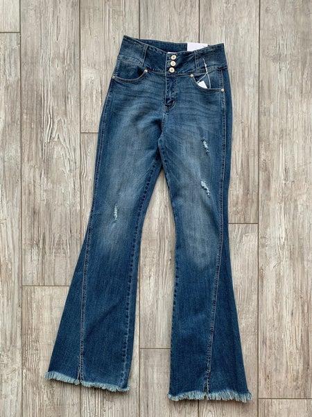 Flare split bottom Jean