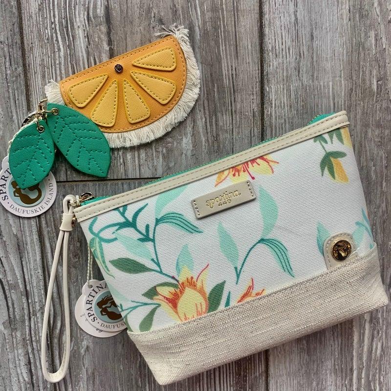 Spartina Orange Keychain
