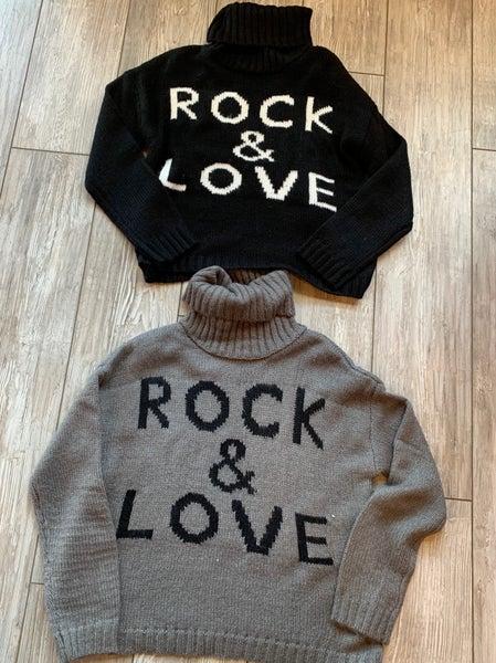 Rock & Love sweater