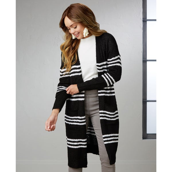 Wren Striped Cardigan