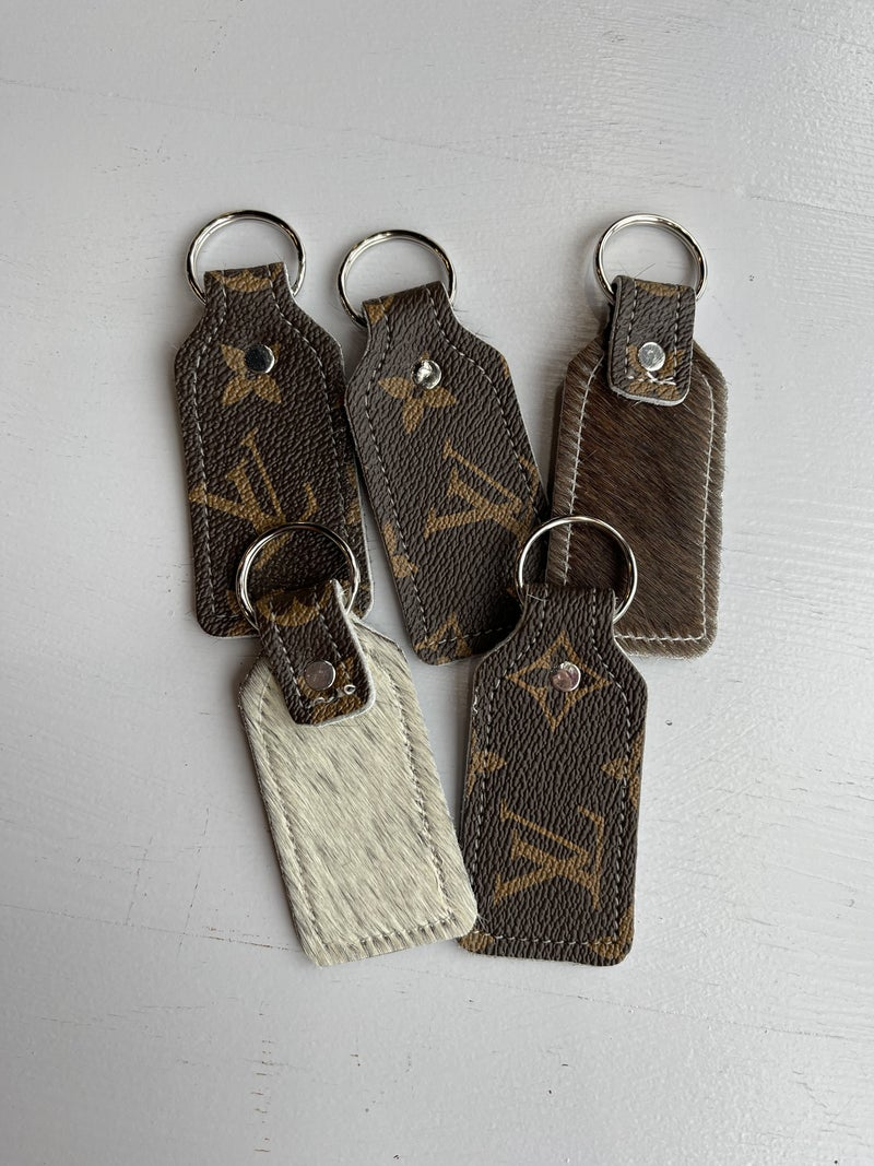Louis Vuitton Brown Keychains