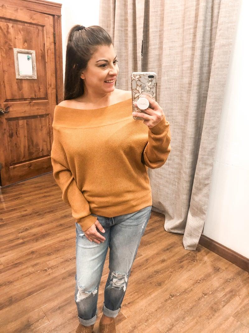 Must Be Love Crop Sweater
