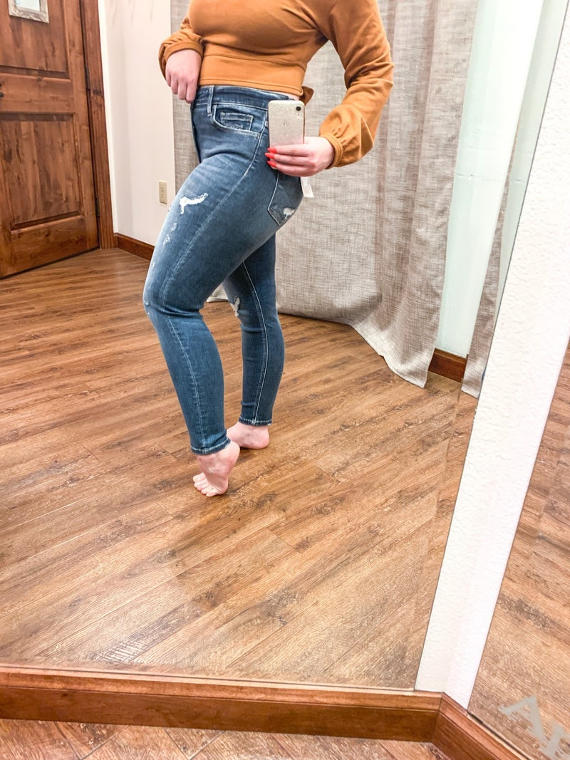 Distressed to Impress Jeans