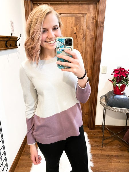 Grapeful Sweater