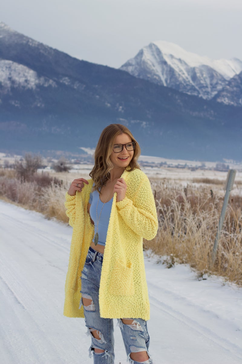 Walking on Sunshine Sweater