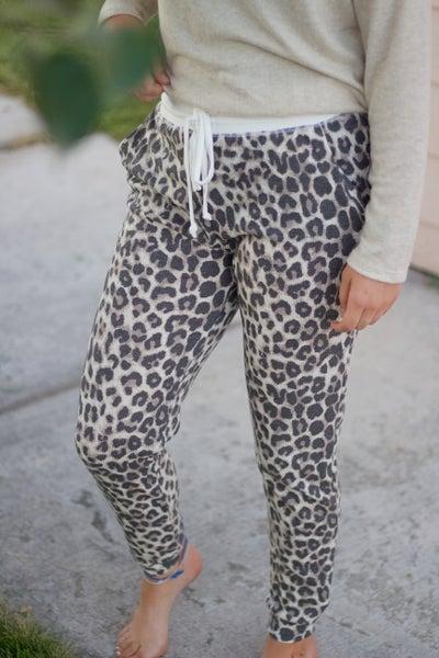 Leopard Me Go Jogger