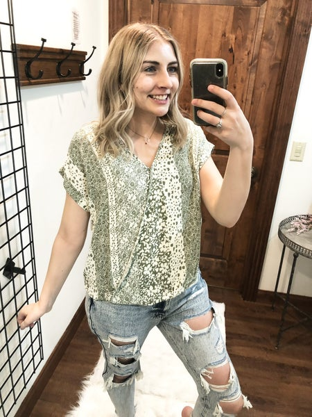 Botanical Dreams Top