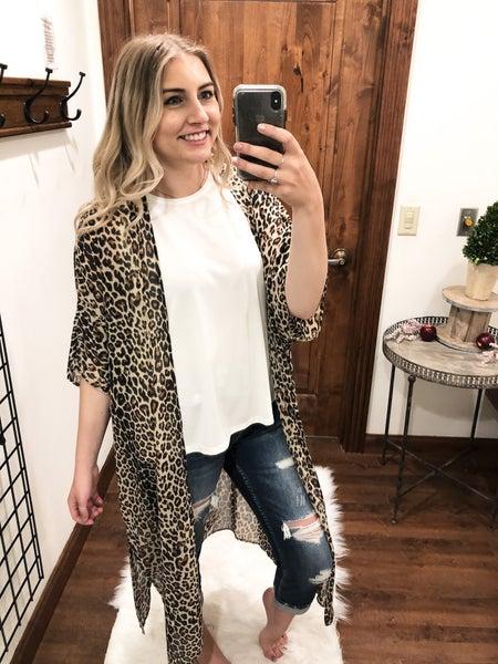 Cheetah Girl Kimono
