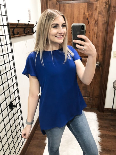 Royally Blue Top