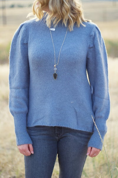 Blue Jean Betty Sweater