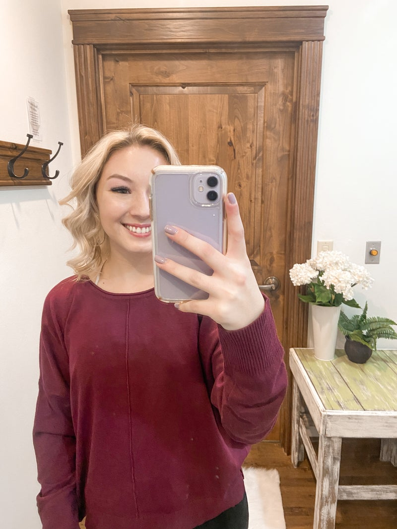 Stay Golden Crop Sweater