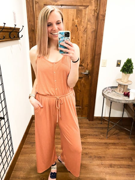 Strawberry Daiquiri Jumpsuit