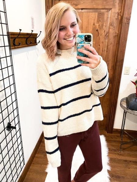 Teddy Striped Sweater