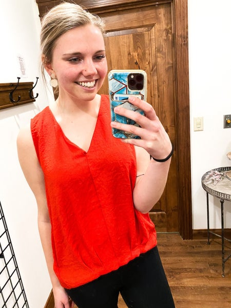 Raging Red Top