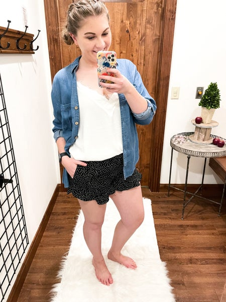 Chambray For You Top
