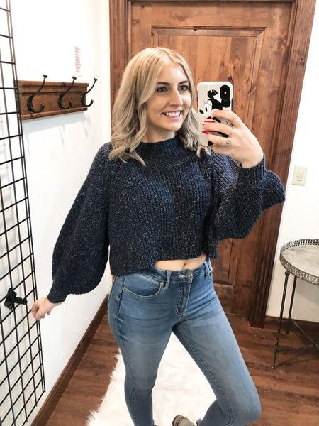Oh Crop Sweater