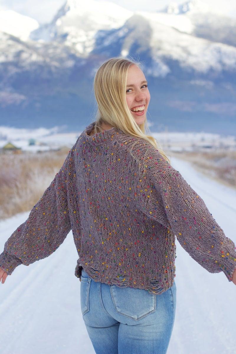 Confetti Cannon Sweater