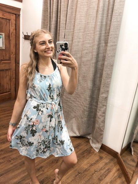 Blue Violet Dress