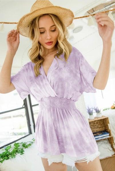 Tie Dye Kimono Top