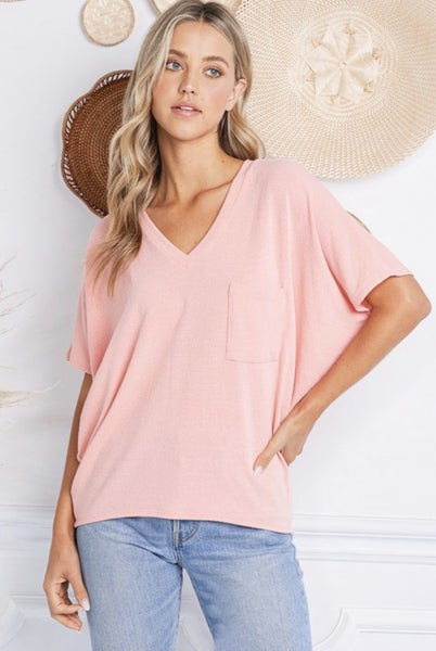 Relaxed Fit Dolman Sleeve Top