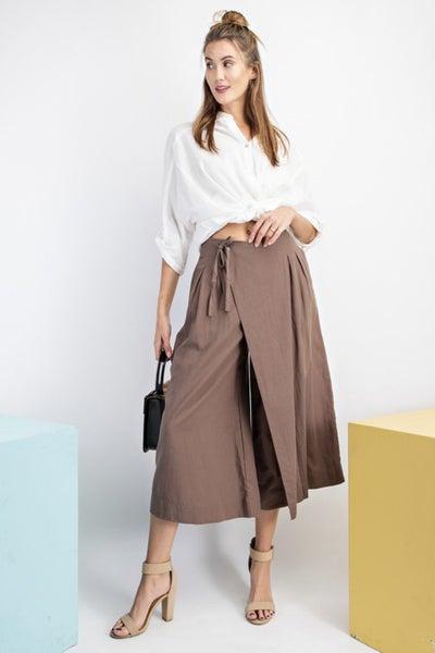 Skirt Inspired Palazzo Pants