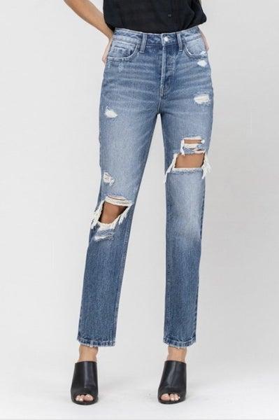 Super High Rise Straight Jean