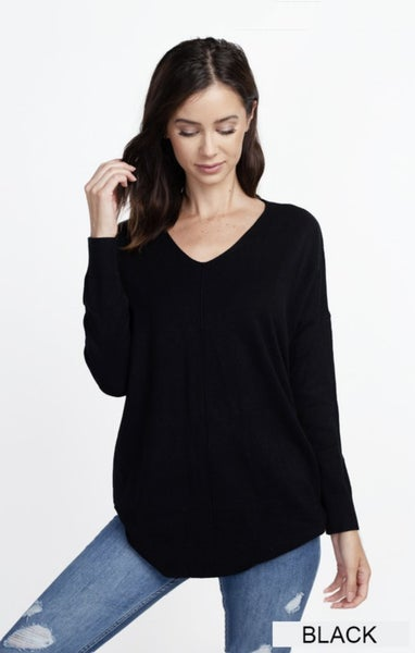 Dreamers Tunic V-Neck Sweater