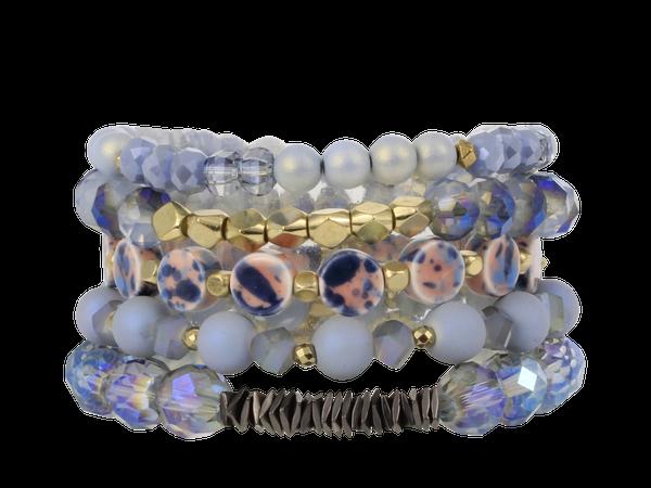 Erimish Sky Stack Bracelet Set