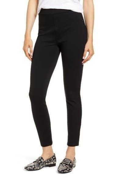 SPANX PETITE Perfect Black Pant, Ankle 4-Pocket