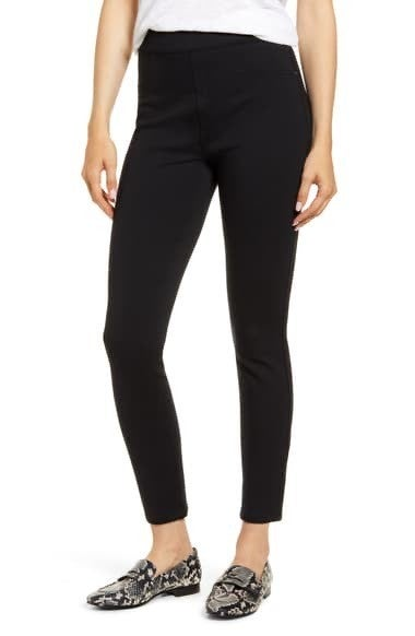 SPANX Perfect Black Pant, Ankle 4-Pocket