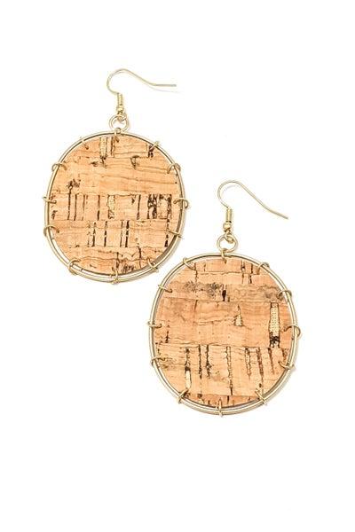 Melody Cork Earrings