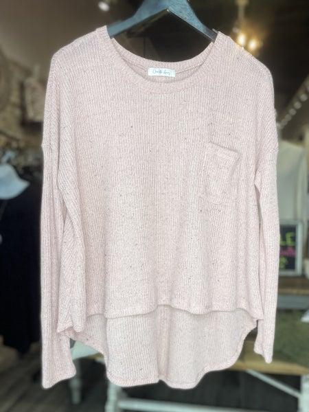 Loose Knit Hi-Lo Hem Sweater