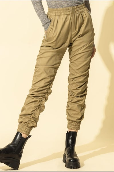 Ruched Joggers