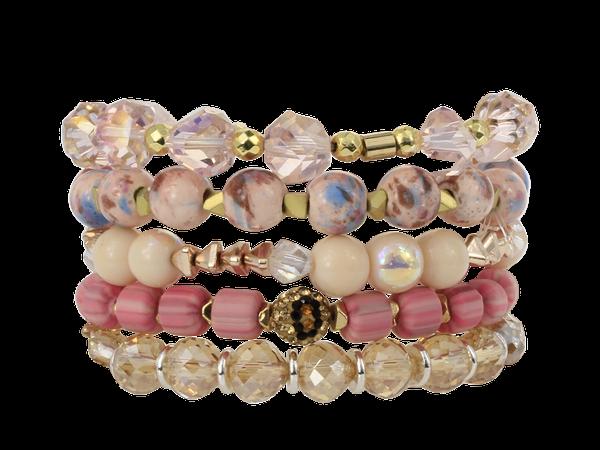 Erimish Starling Stack Bracelet Set