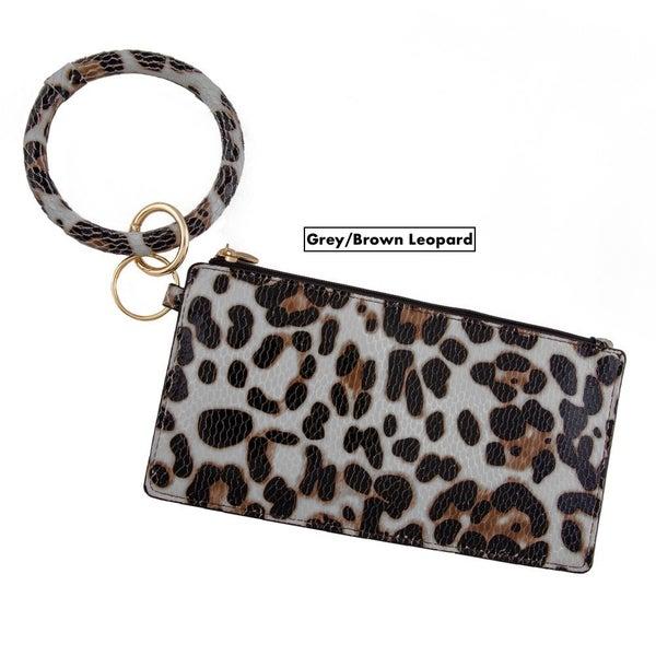 Vegan Leather Keychain/Wristlet