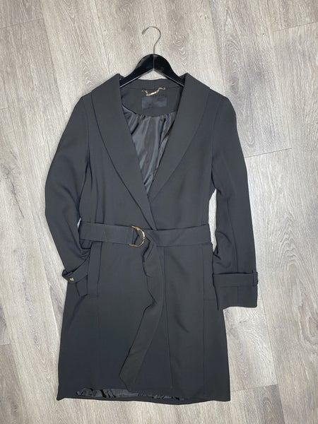 Mid-Length Crepe Jacket