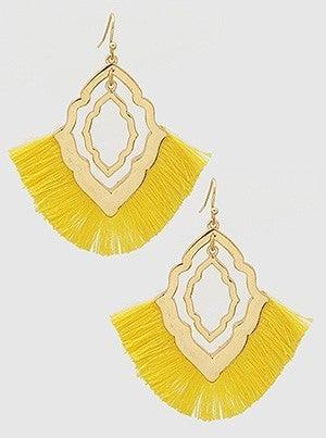 Thread Tassel Earrings