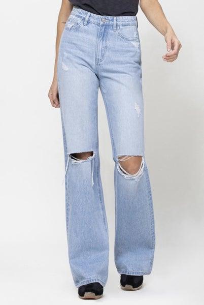 90's Vintage Flare Jeans