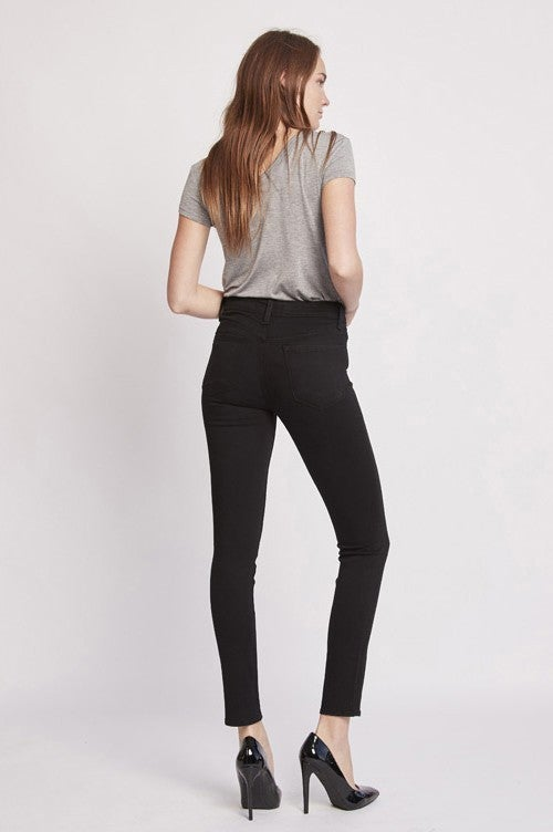 Flying Monkey Black Mid Rise Ankle Skinny