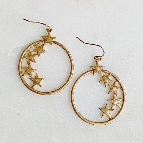Follow My Lead Star Earrings